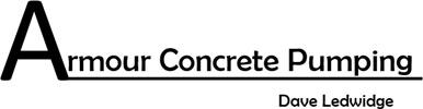 Armour Concrete Pumping Logo