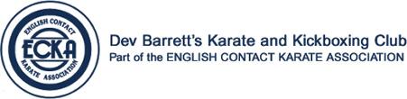 Dev Barrett's Karate and Kickboxing Club Logo