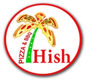 Hish Pizza & BBQ Logo