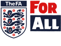 The FA For All Charter Standard Logo