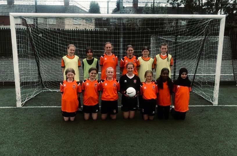 St Finbarrs Coventry Football Club Girls Team