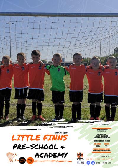 St Finbarrs Little Finns and Academy Poster